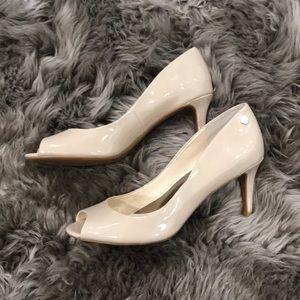 Calvin Klein nude heels